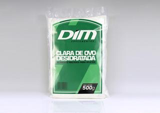 4 Albumina Marca Dim - Proteína Da Clara Do Ovo C/ 500g Cada