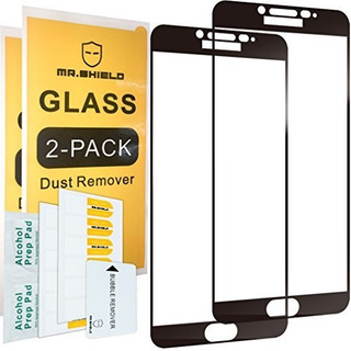 2pack Mr Shield Para Samsung Galaxy C9 Pro Vidrio Templado C