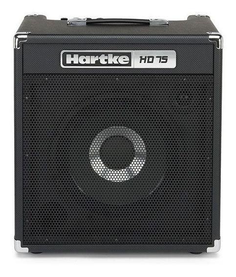 Amplificador Para Contrabaixo 75w Hd75 Hartke