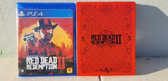 Red Dead Redemption 2 Steelbook Ps4