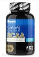 Suplemento Bcaa 2:1:1 60g 120caps Growth Supplements