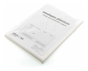 Saco Plastico Acp 0.15 Sem Furo Oficio (240x325) 100 Un