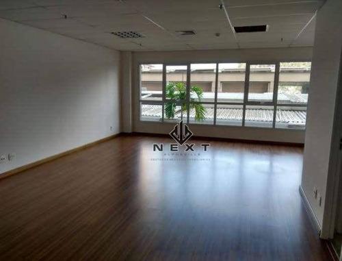 Imagem 1 de 6 de Sala Para Alugar, 56 M² Por R$ 1.960/mês - Alphaville Conde Ii - Barueri/sp - Sa0082