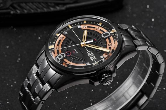 Relógio Pagani Design 100% Original. + Estojo.