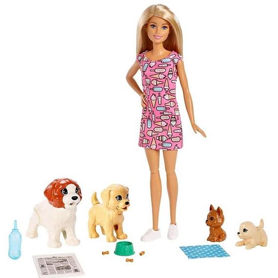 Barbie Treinadora De Cachorrinhos Pronta Entrega