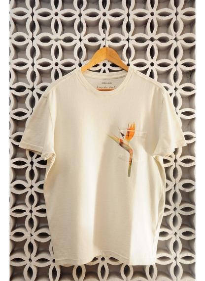 Camiseta Off White Bolso