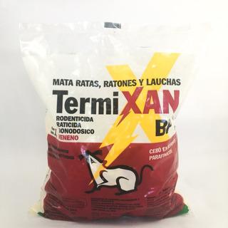 Veneno Ratas Cebo Control Raticida Termixan Bp X 1 Kilo