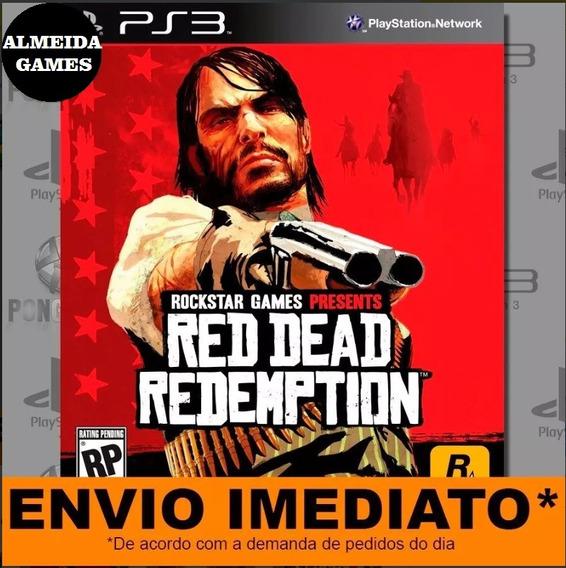 Jogo Ps3 Red Dead Redemption Play 3 Digital Psn Envio Agora