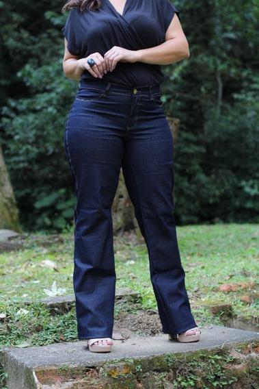 Kit 2 Calças Jeans Feminina Plus Size 44 Ao 52 54 56 58 60