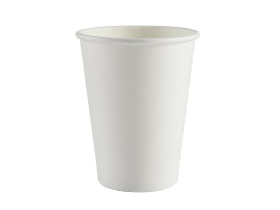 Copo Térmico Papel Biodegradável Branco 200 Ml S/tampa 100un