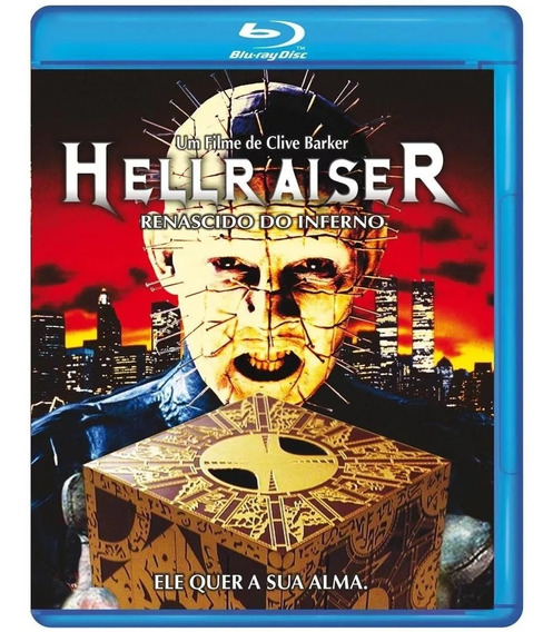 Blu-ray Hellraiser Renascido Do Inferno