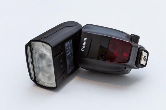 Flash Canon Speedlite 600ex-rt (original) - Pouquíssimo Uso.