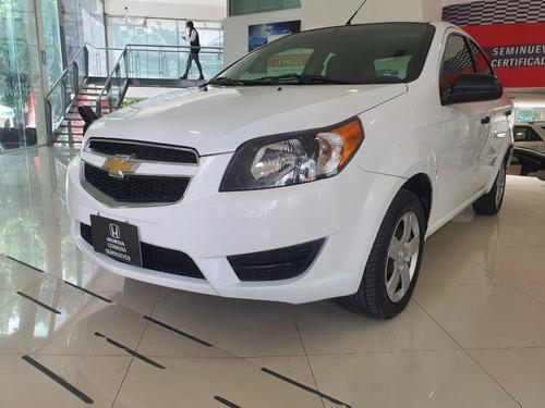 Imagen 1 de 15 de Chevrolet Aveo Ls Tm Paq. K 2018 44,300 Km Blanco 4 Ptas