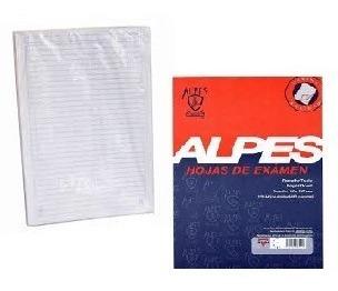 Resma Hoja De Examen Alpes (2 Unds)