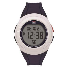 Relógio Fila Digital Masculino Azul