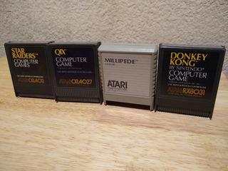 Atari Paquete De 4 Juegos