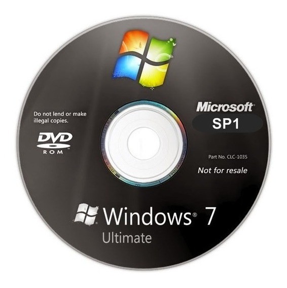 Cd Windows 7 Ultimate 32/64 Bits Ativado
