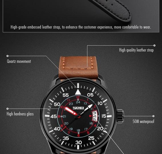 Relógio Skmei Quartzo Relógios 30m.