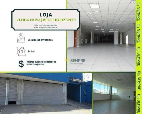 Imagem 1 de 17 de Loja Para Alugar, 748 M² - Venda Nova - Belo Horizonte/mg - Lo0073