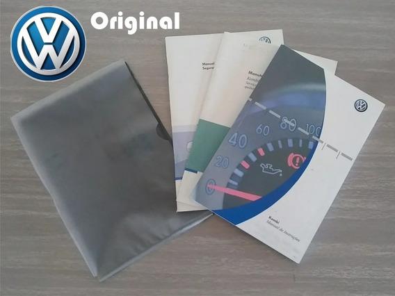 Manual Do Proprietário Kombi 2007 Original!!! - Vw21