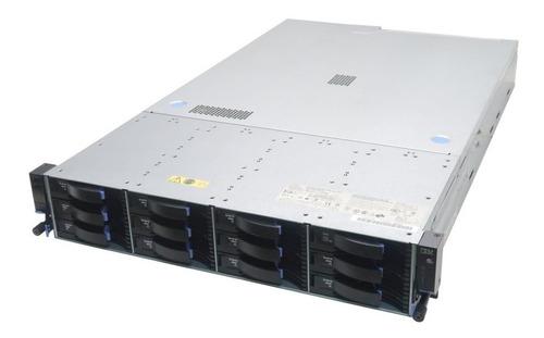 Servidor Ibm X3630 2xeon 12hds Sas 98 Gigas De Memória Ram