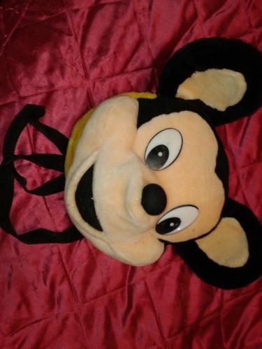 Mochila Con La Cara De Mickey