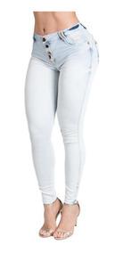 Calça Jeans Feminina Cigarrete Pit Bull Jeans Ref: 28724