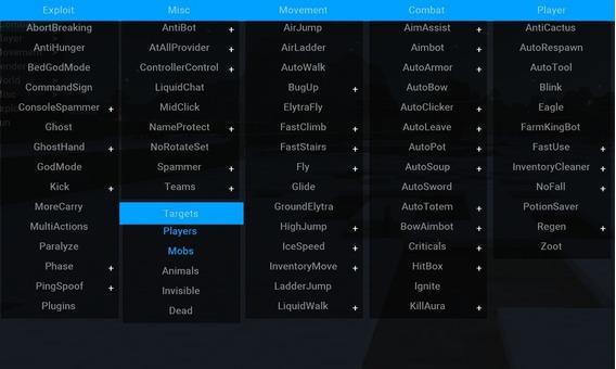 Minecraft Mod Hack Premium Lifetime (zorra Software) 2020