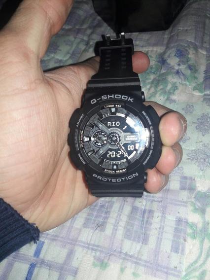 Relógio G Shock,ga110 Preto Fosco