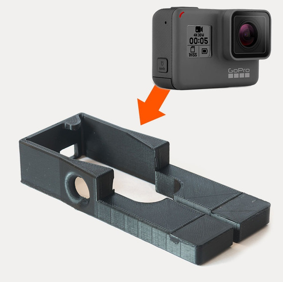 Adaptador Gopro 5/6 No Gimbal Zhiyun-tech Smooth Q