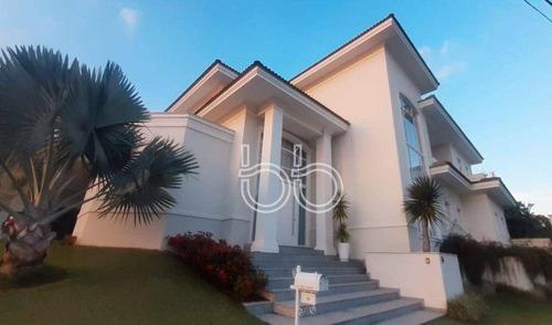 Imagem 1 de 30 de Casa Com 5 Dormitórios À Venda, 529 M² Por R$ 2.950.000,00 - Condomínio Jardim Theodora - Itu/sp - Ca4042