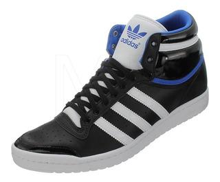 Adidas Top Ten Hi Sleek. Negras Y Doradas Mujer en Mercado