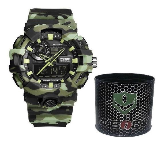 Relógio Masculino Gshock Weide Original Prova D Água Dj0130