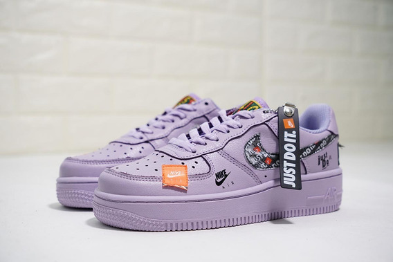 Tenis Nike Force One Just Do It Todos Los Colores Unisex For