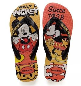 Chinelo Havaianas Mickey Disney Stylish Modelo 43/44