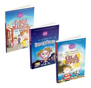 Paquete Libros Infantiles Para Crecer Creatividad En Niños
