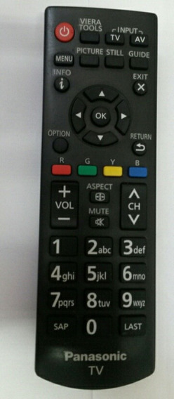 Controle Remoto Tv Panasonic Original Tc-32d400b Tc-40d400b