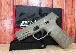 Airsoft Pistola Ics Alpha Ble Tan Green Gas 6mm Gbb