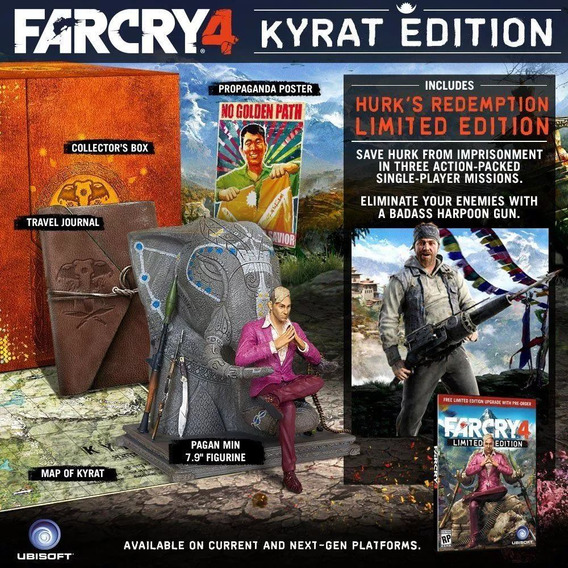 Caixa Far Cry 4 Kyrat Edition - Collectors Edition Xbox 360