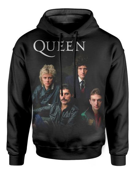 Moletom Com Capuz Unissex Queen Freddie Mercury Md03