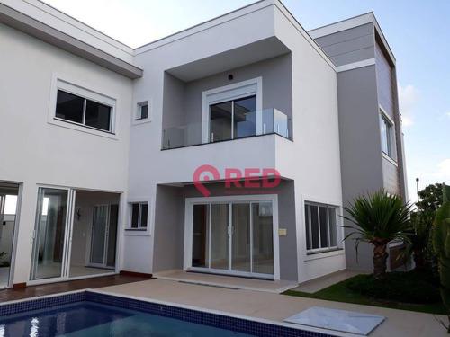 Sobrado Com 5 Dormitórios À Venda, 395 M² Por R$ 2.500.000,00 - Alphaville Nova Esplanada Iii - Votorantim/sp - So0143