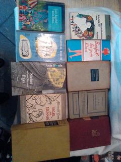 Lote X 10 Libros En Alemán/ Muy Buen Estado / Tapas Duras