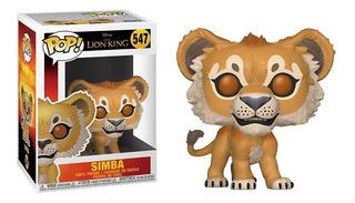 Figura Funko Pop Disney Lion King - Simba 547 Original Wabro