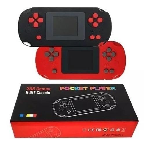 Vídeo Game Portátil Pocket Player Com 268 Jogos