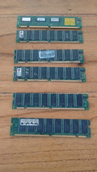 Pack De 6 Memorias Sdram Pc133