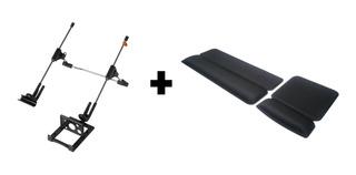 Kit Mouse Pad + Apoio Digitação + Suporte Notebook