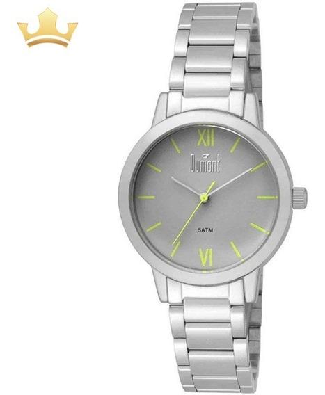 Relógio Dumont Feminino Du2035lui/3v C/ Garantia E Nf