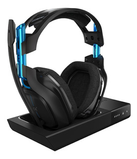 Auriculares Gamer : Astro A50 Wireless Dolby Black/blue Ps4