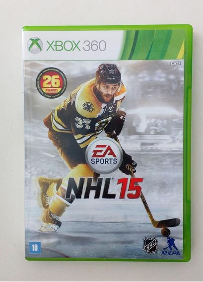 Jogo Xbox 360 Nhl15 - Usado Original