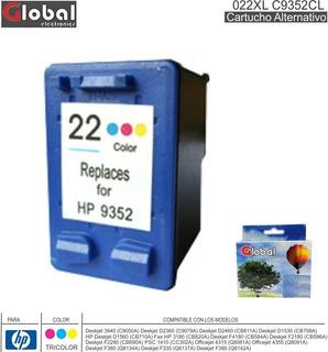 Cartucho Alternativo Hp 022xl C9352cl Tricolor Global